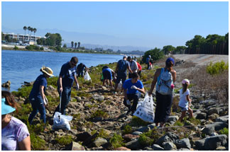 Ballona Wetland Coastal Clean Up Day Cleanup 1